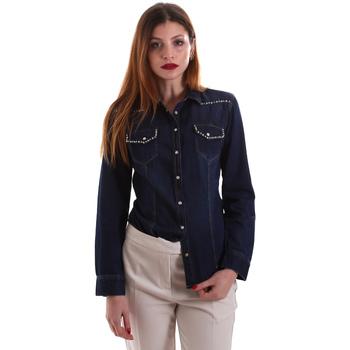 vaatteet Naiset Paitapusero / Kauluspaita Gaudi 921BD46001 Sininen