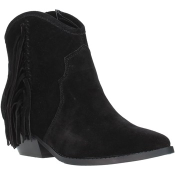 kengät Naiset Nilkkurit Guess FL8NAM SUE10 Musta