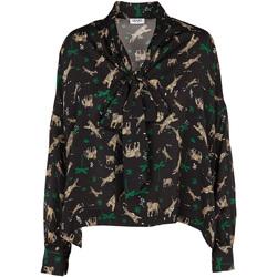 vaatteet Naiset Topit / Puserot Liu Jo W69040 T4031 Musta