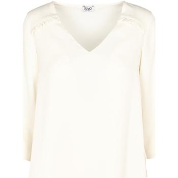 vaatteet Naiset Topit / Puserot Liu Jo W69064 T5630 Beige