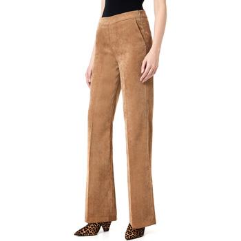 vaatteet Naiset Chino-housut / Porkkanahousut Liu Jo W69180 T4075 Ruskea