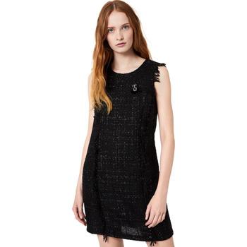 vaatteet Naiset Lyhyt mekko Liu Jo W69330 T4080 Musta