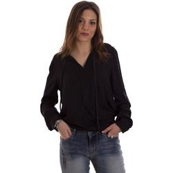 vaatteet Naiset Paitapusero / Kauluspaita Liu Jo F69053 T4090 Musta