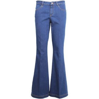vaatteet Naiset Bootcut-farkut NeroGiardini A960660D Sininen