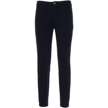vaatteet Naiset Chino-housut / Porkkanahousut NeroGiardini A960700D Sininen