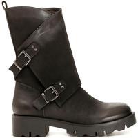 kengät Naiset Saappaat Café Noir FE954 Musta