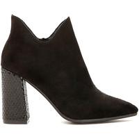 kengät Naiset Nilkkurit Café Noir MA956 Musta