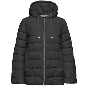 vaatteet Naiset Toppatakki Geox W9429D T2590 Musta