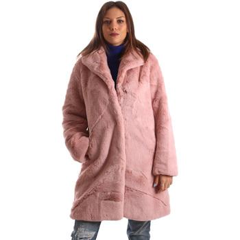 vaatteet Naiset Paksu takki Invicta 4444005/D Vaaleanpunainen
