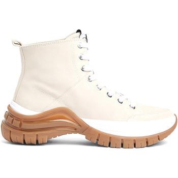 kengät Naiset Nilkkurit Calvin Klein Jeans B4R0763 Beige