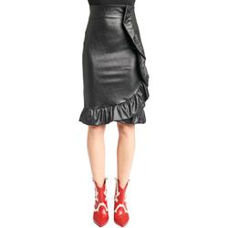 vaatteet Naiset Hame Denny Rose 921DD70003 Musta