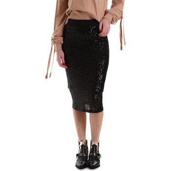 vaatteet Naiset Hame Denny Rose 921DD70017 Musta