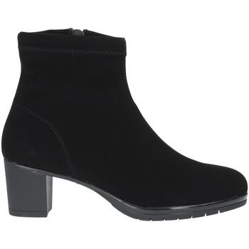 kengät Naiset Nilkkurit Susimoda 825381 Musta