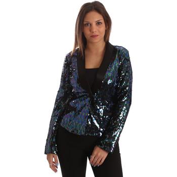 vaatteet Naiset Takit / Bleiserit Fracomina FR19FP622 Musta