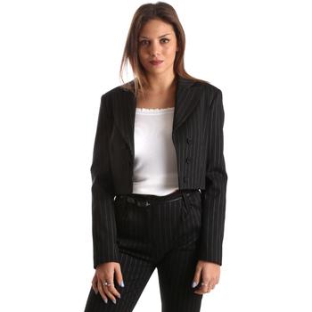 vaatteet Naiset Takit / Bleiserit Fracomina FR19FP066 Musta