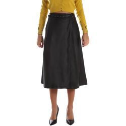 vaatteet Naiset Hame Fracomina FR19FM501 Musta