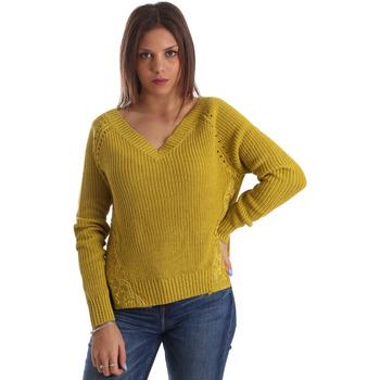 vaatteet Naiset Neulepusero Fracomina FR19FM836 Keltainen