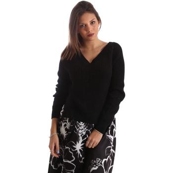 vaatteet Naiset Neulepusero Fracomina FR19FM836 Musta
