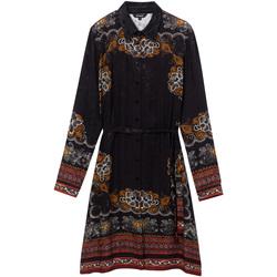 vaatteet Naiset Lyhyt mekko Desigual 19WWVW34 Musta