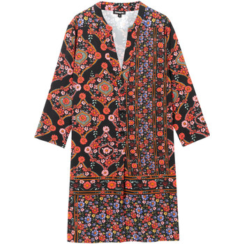 vaatteet Naiset Lyhyt mekko Desigual 19WWVW94 Musta