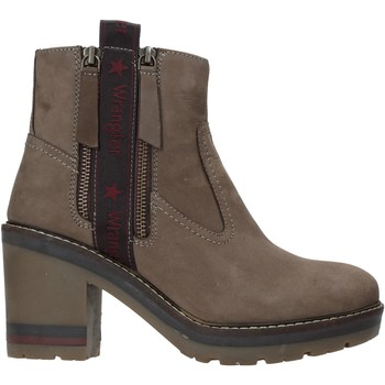 kengät Naiset Nilkkurit Wrangler WL92600A Harmaa