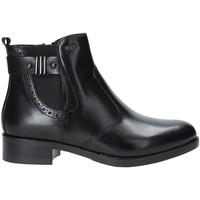 kengät Naiset Nilkkurit Valleverde 47504 Musta
