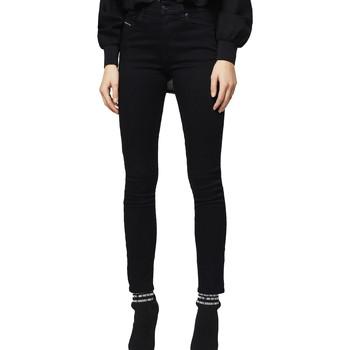vaatteet Naiset Slim-farkut Diesel 00STRN 069EF Musta