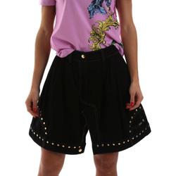vaatteet Naiset Hame Versace A9HUB301APD3W899 Musta