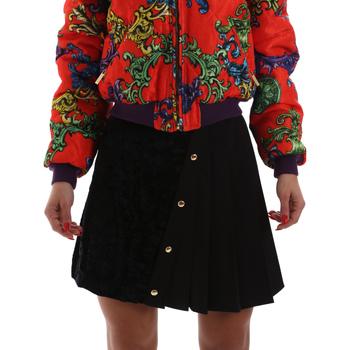 vaatteet Naiset Hame Versace A9HUB30505487899 Musta
