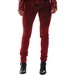 vaatteet Naiset Farkut Versace A1HUB0Y0APW48537 Punainen