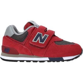 kengät Lapset Matalavartiset tennarit New Balance NBIV574FNB Punainen