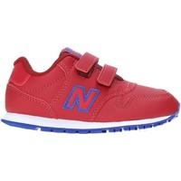 kengät Lapset Matalavartiset tennarit New Balance NBIV500DA Punainen