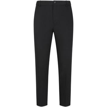 vaatteet Miehet Chino-housut / Porkkanahousut Calvin Klein Jeans K10K105236 Musta