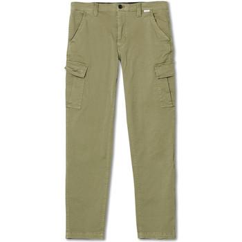 vaatteet Miehet Reisitaskuhousut Calvin Klein Jeans K10K105302 Vihreä