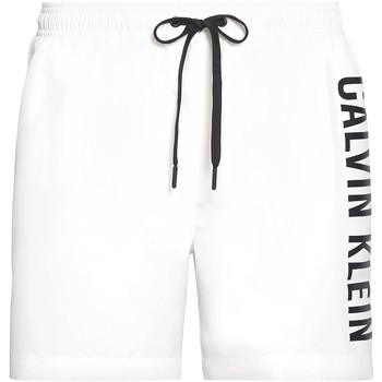 vaatteet Miehet Uima-asut / Uimashortsit Calvin Klein Jeans KM0KM00452 Valkoinen