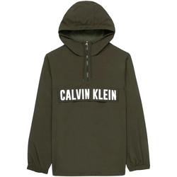 vaatteet Miehet Takit Calvin Klein Jeans 00GMH9O588 Vihreä