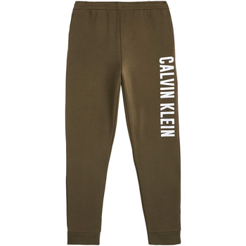 vaatteet Miehet Verryttelyhousut Calvin Klein Jeans 00GMH9P680 Vihreä