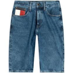 vaatteet Miehet Shortsit / Bermuda-shortsit Tommy Jeans DM0DM08049 Sininen