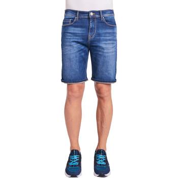 vaatteet Miehet Shortsit / Bermuda-shortsit Gaudi 011BU26009 Sininen