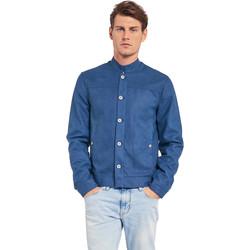 vaatteet Miehet Takit Gaudi 011BU38005 Sininen