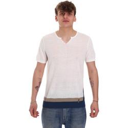 vaatteet Miehet Lyhythihainen t-paita Gaudi 011BU53021 Beige