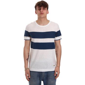 vaatteet Miehet Lyhythihainen t-paita Gaudi 011BU53023 Beige