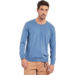 vaatteet Miehet Neulepusero Gaudi 011BU53024 Sininen