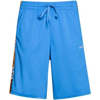 vaatteet Miehet Shortsit / Bermuda-shortsit Diadora 502176087 Sininen