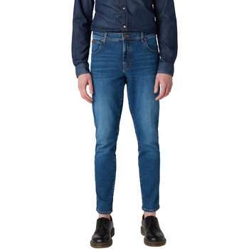 vaatteet Miehet Slim-farkut Wrangler W12ST112E Sininen