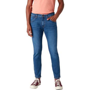 vaatteet Miehet Slim-farkut Wrangler W14XT112E Sininen