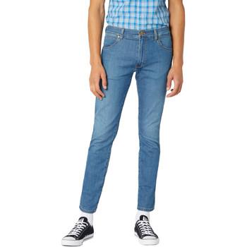 vaatteet Miehet Slim-farkut Wrangler W18SQ1156 Sininen