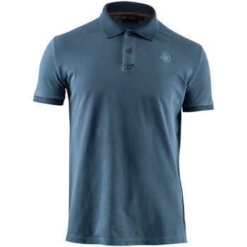 vaatteet Miehet Lyhythihainen poolopaita Lumberjack CM45940 007 516 Sininen
