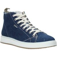kengät Miehet Korkeavartiset tennarit IgI&CO 5137811 Sininen