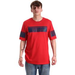 vaatteet Miehet Lyhythihainen t-paita Fila 683085 Punainen